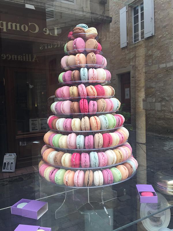 Photo of macarons, St. Emilion, France